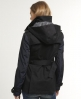 Superdry Super Hooded Raincoat Black