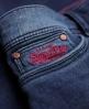 Superdry Standard Rise Jeggings Blue