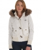 Superdry Study Duffle Jacket Cream