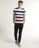 Superdry Lowbar T-shirt Navy