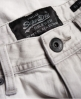 Superdry Officer Slim Denim Shorts Grey