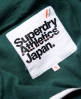 Superdry LA Athletic Zip hoodie Green