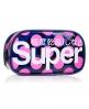 Superdry Polka Neon Bag  Navy