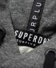 Superdry Surplus Goods Hoodie mit Grafikprint Grey