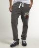Superdry Off Set Heel Pop Jogger Grey