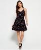 Superdry Ditsy Floral Dress Black