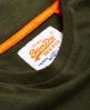 Superdry Vintage Orange Label T-shirt met opgestikt logo Groen