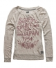 Superdry Spirit Of Japan T-shirt Beige