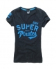 Superdry Sport Pitch Vee T-shirt Dk Grey