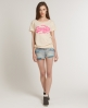 Superdry Vintage Oversize T-shirt Cream