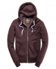 Superdry Primary Zip Hoodie Red