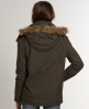 Superdry Arctic Fur Windcheater Green