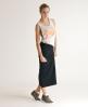 Superdry Tubular Maxi Skirt Black