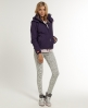 Superdry Hooded Polar Windcheater Purple