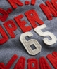 Superdry Core Appliqué Hoodie Navy