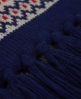 Superdry Fairisle Scarf Blue