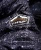 Superdry Cazadora con capucha y cremallera doble Printed Fuji Marino