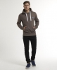 Superdry Orange Label Hoodie Brown