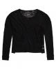Superdry Nevada Springs Slub Knit Top Black