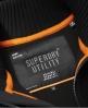 Superdry Stockholm Pullover mit versiegeltem Reißverschluss Schwarz