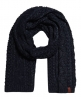 Superdry North Cable Scarf Navy