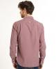 Superdry Cut Collar Shirt Red
