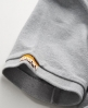 Superdry Twist Yarn Pique Polo Grey
