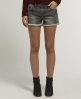 Superdry Tomboy Raw Edge Shorts Grey