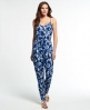 Superdry Poolside Jumpsuit Blau