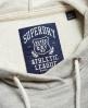 Superdry Athletic League Loopback Kleid Grau