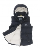 Superdry Hooded Camping Vest Navy