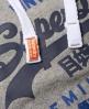 Superdry Premium Goods Duo Hoodie  Hellgrau
