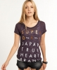 Superdry No.6 Type T-shirt Purple