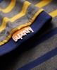 Superdry Drop Breton Stripe Polo Navy