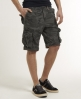 Superdry Camo Ripstop Shorts Grey