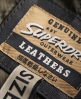 Superdry Shrunken Biker Jacket Black