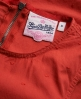 Superdry Broderie Stitch Playsuit Red