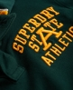 Superdry Super State Long Sleeve Polo Shirt Green
