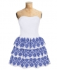 Superdry 50s Folklore Dress White