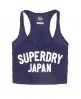 Superdry Cheerleader Vest Purple