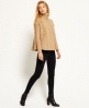 Superdry Cable Cape Pulli Braun