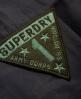 Superdry Combat Langarmhemd Schwarz
