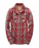 Superdry Twill Western Snapper Red