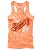 Superdry Keep It Vest Top Orange