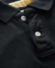 Superdry Twist Yarn Pique Polo Black