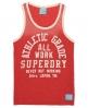 Superdry All Work Vest Red