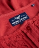Superdry Roswell Lacy Blouse Red
