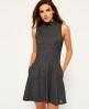 Superdry Metropolitan Kleid  Blau