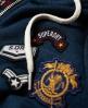 Superdry Willow Badge Zip Hoodie Blue