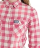 Superdry Washbasket Check Shirt Pink
